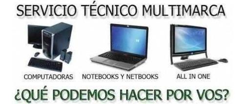 servicio tecnico de pc, notebook, celulares y tablets consul