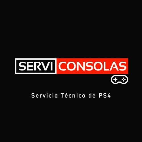 servicio tecnico de ps4 pro, slim, fat. arreglo de consolas.