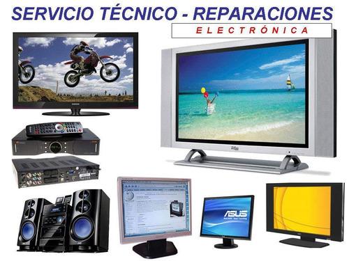 servicio tecnico de radio y tv  a domicilio