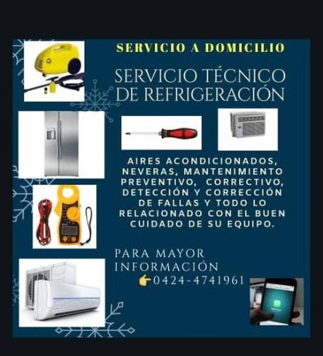 servicio técnico de refrigeración a domicilio