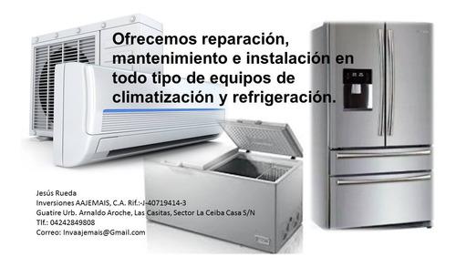 servicio tecnico de refrigeracion comercial e industrial