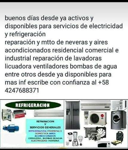 servicio técnico de refrigeración residencial y comercial
