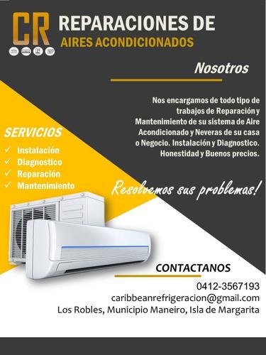 servicio técnico de refrigeración y aires acondicionados.