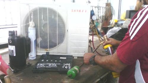 servicio técnico de refrigeración.whirlpool,sansun,