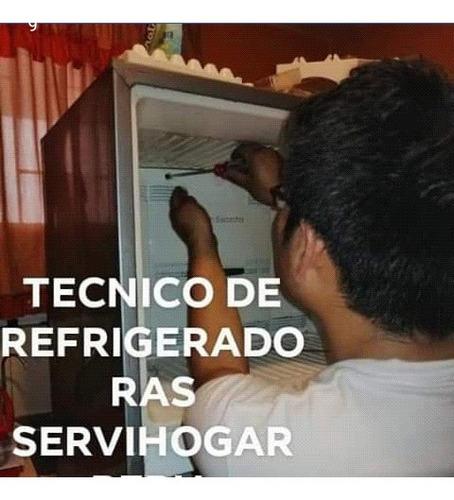 servicio tecnico de refrigeradoras a domicilio