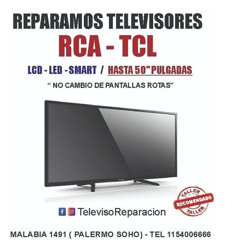 servicio tecnico de smart tv - reparamos su tv por $3900