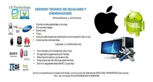 servicio técnico de smartphone, ordenadores y laptop