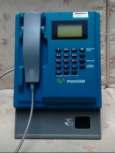 servicio técnico de teléfonos públicos monederos