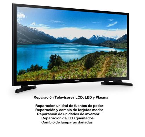 servicio tecnico de televisores lcd y led, domicilio
