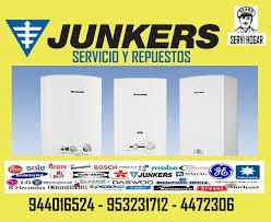 servicio tecnico de termas junkers 01-4806125