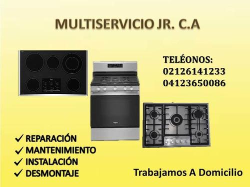 servicio técnico de topes cocinas hornos whirlpool