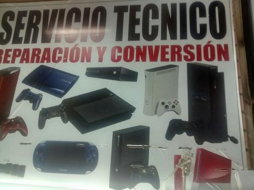 servicio tecnico de video juegos