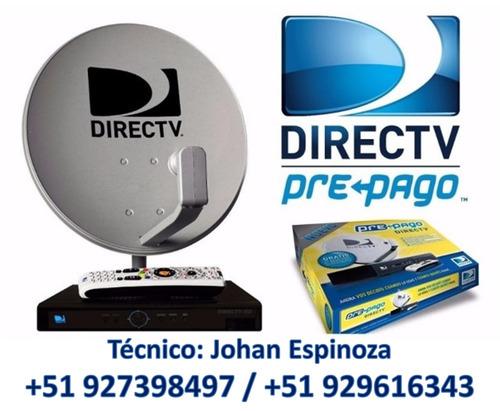 servicio tecnico directv instalacion y venta