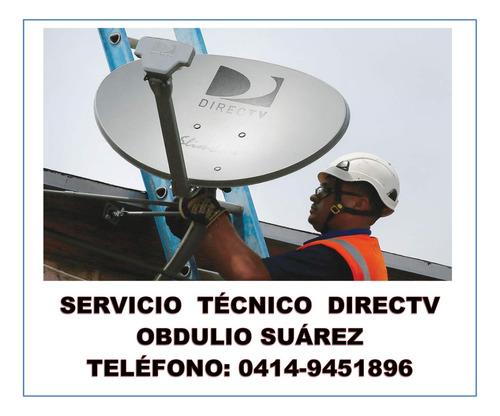 servicio tecnico directv , movistar sist sat de tv