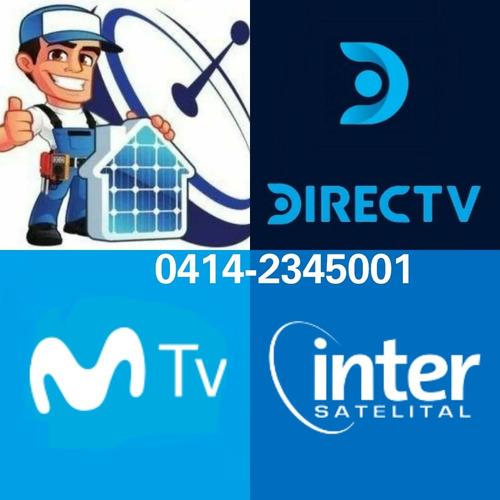servicio tecnico directv movistar tv inter 0414-2345001