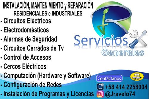 servicio técnico eléctrico,electrónico e informática