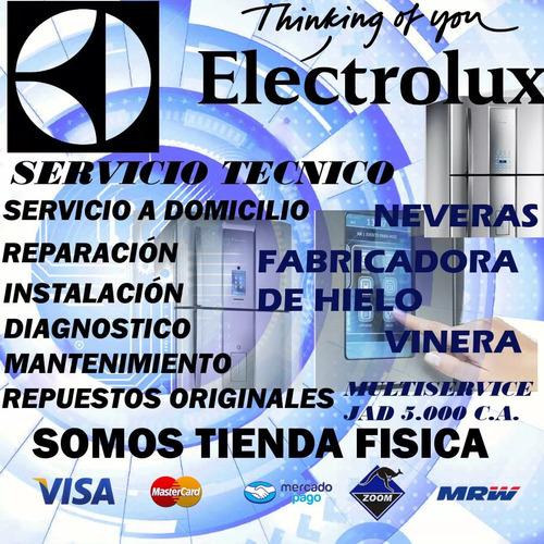 servicio tecnico electrolux  nevera lavadora secadora