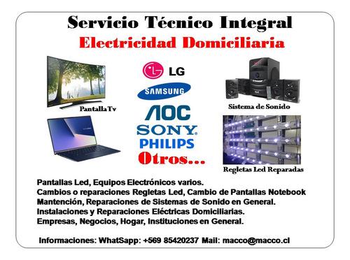 servicio tecnico electronico y electrico y seguridad cctv.