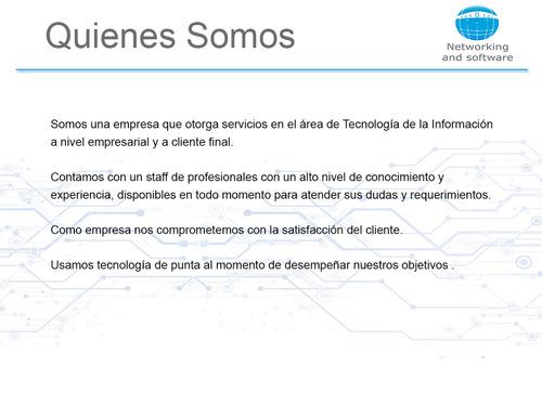servicio tecnico empresarial , sistemas,telefonica,cableado
