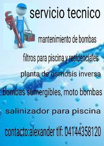 servicio tecnico en bombas y piscinas