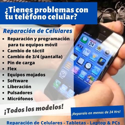 servicio técnico en celulares android samsung blu iphone