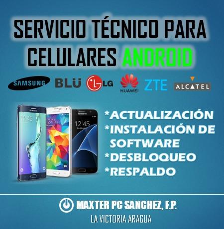 servicio técnico en computadora pc laptop android tablet