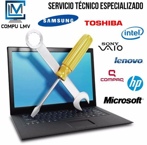 servicio tecnico en computadoras, instalacion, reparaciones.