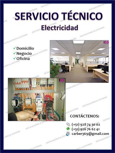 servicio técnico en electricidad