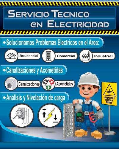 servicio técnico en electricidad residencial e industrial