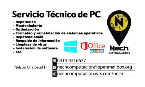 servicio técnico en general de computadoras - certificado