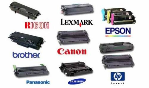 servicio técnico en impresoras, láser  epson hp cannon ricoh