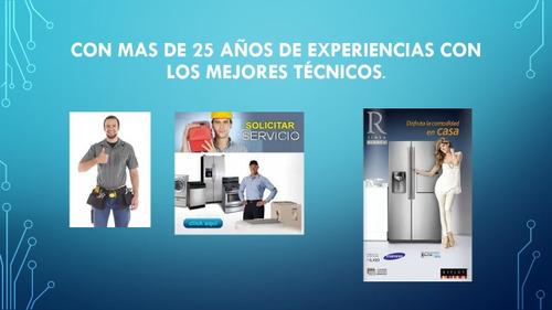 servicio técnico en línea blanca: cocina, nevera, secadora,