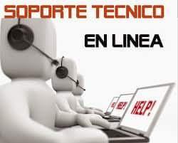 servicio técnico en línea y terreno