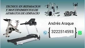 servicio técnico en mantenimiento de equipos deportivos