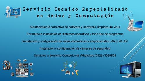 servicio técnico en redes y computación