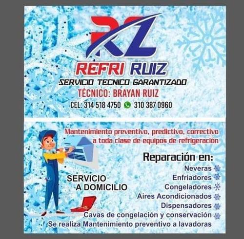 servicio técnico en refrigeración y lavadoras