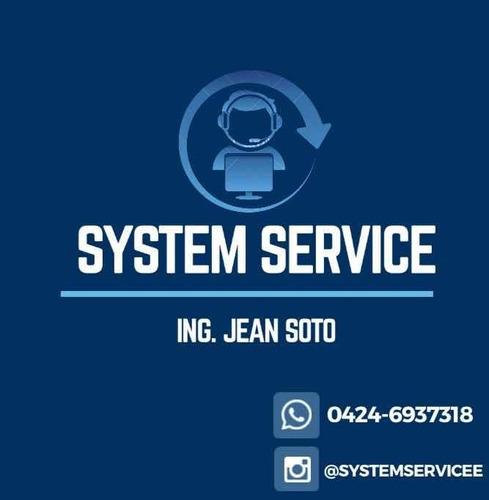 servicio técnico en sistemas, software, hardware