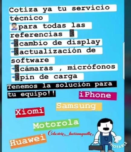 servicio técnico en telefonía móvil celular y tablet