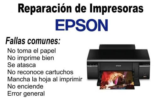 servicio tecnico epson diagnostico gratis cabezal mainboard