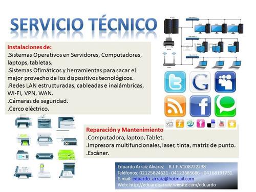servicio tecnico equipos de computacion para pyme`s