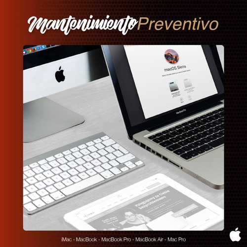servicio técnico especializado apple - mac - imac - macbook