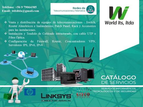 servicio tecnico especializado caramas de seguridad y redes