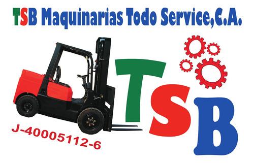 servicio tecnico especializado de montacargas