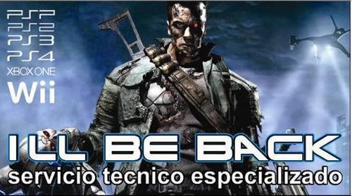 servicio tecnico especializado en consolas de video juego