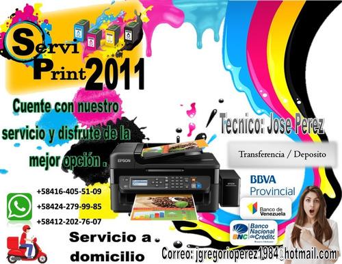 servicio tecnico especializado en impresoras epson.