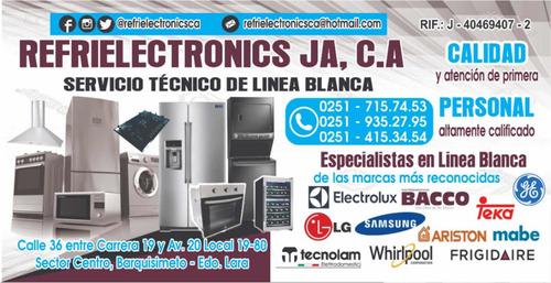 servicio técnico especializado en línea blanca