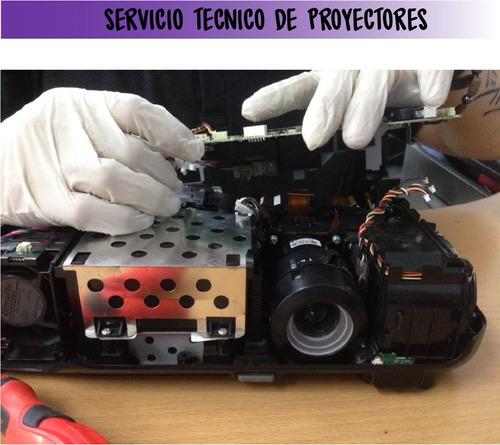 servicio técnico especializado en proyectores / video beam