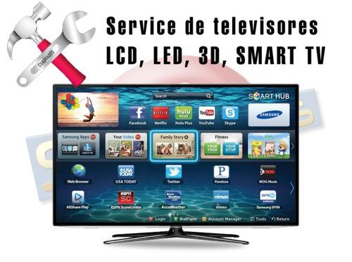 servicio tecnico especializado en televisores led