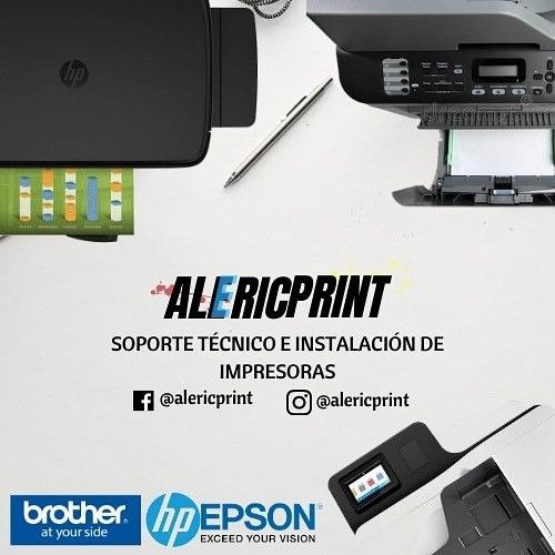 servicio técnico especializado impresoras epson hp canon bro