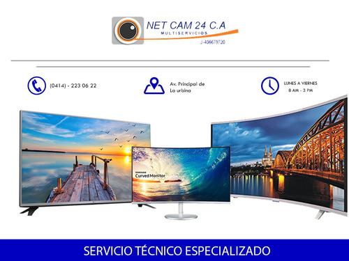 servicio técnico especializado monitores lg samsung aoc hp